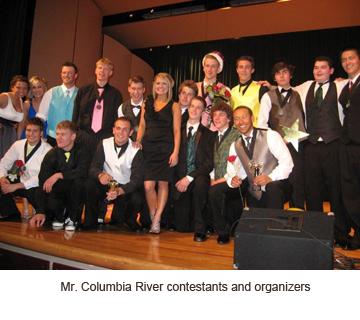 Mr. Columbia River Pageant showcases community spirit
